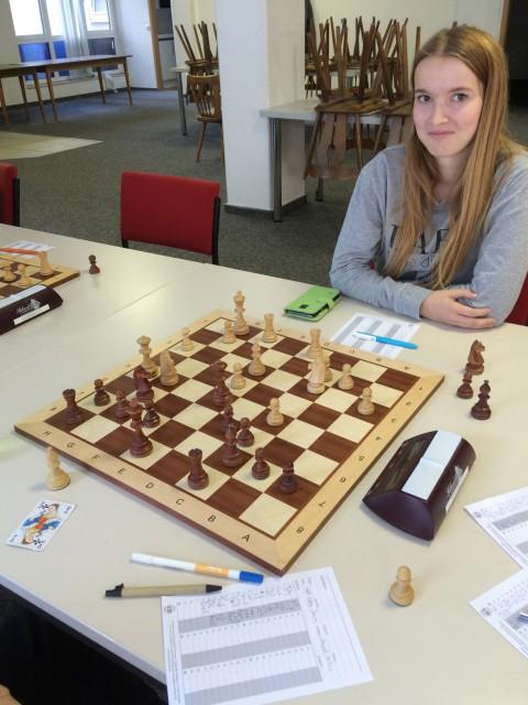Jana - die Entdeckung des Turniers.